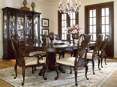 furniture gorgeous image of dining room decoation using thomasviller studio 455 formal dining room group