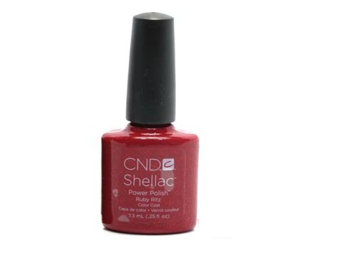Nail Ritz by Cnd Shellac Color Coat Ruby Ritz