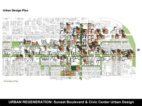 design guidelines planning sunset boulevard civic center urban design plan