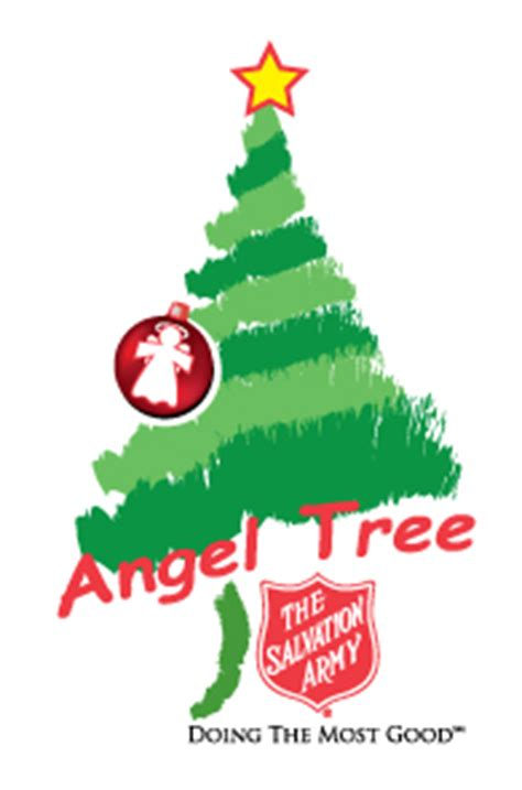 salvation army angel tree logo dallas sle sale liking for a worthy cause it all