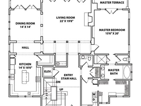 coastal home floor plans chateau style homes floor plan craftsman style homes