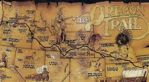 oregon trail on a map nothing mundane oregon trail