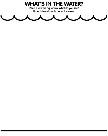 W Is For Water Coloring Page by What S In The Water Coloring Page Crayola