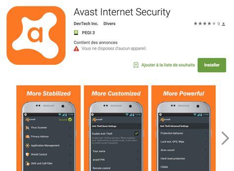 Play Store X Iphone Play Store Une Copie Factice D Avast Promet De