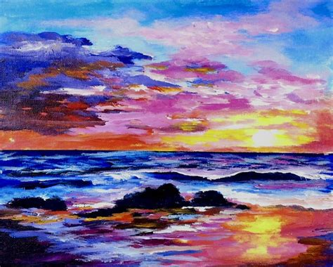 tutorial watercolor sunset 17 best images about wave water masterclass on pinterest