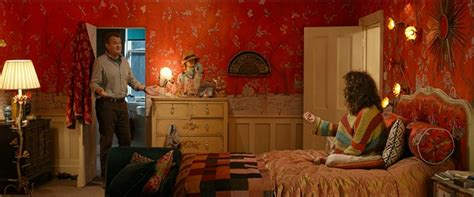 in the bedroom film inside the colorful house from the quot paddington quot movie