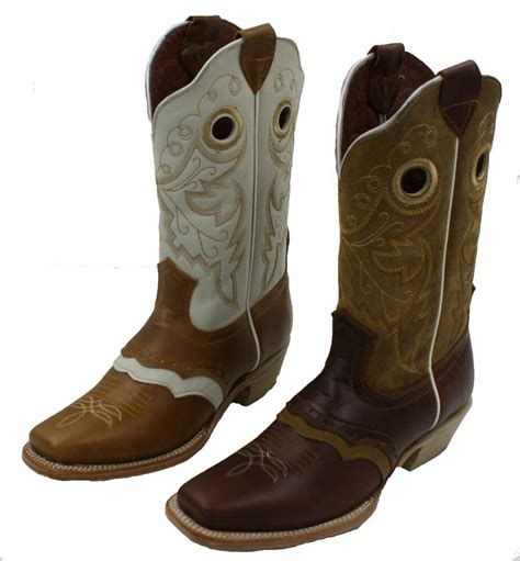 Cowhide Leather Shoes - boots womens western cowhide genuine leather boots