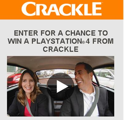 Playstation Sweepstakes 2016 - crackle win 1 of 12 prize packs of one sony playstation 4 by ma giveawayus com