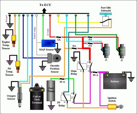 fuel injector wiring diagram in fuel injector wiring