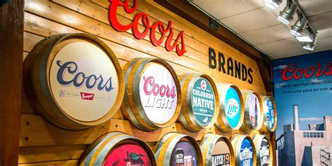 coors light by volume coors brewing company breweries millercoors