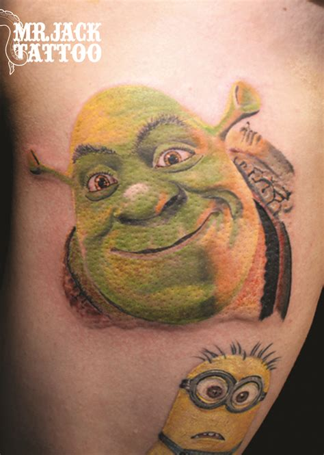 shrek tattoo 10 best images about mr on disney