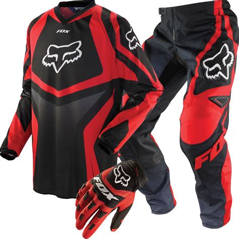 motocross gear package deals fox racing hc 180 race youth package deal black and