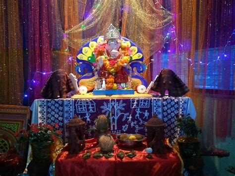 decoration for ganesh festival at home decoration ideas for ganesh chaturthi at home festivals