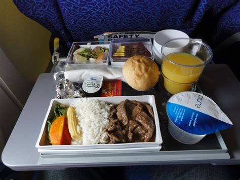 light meals for dinner what s onboard singapore airlines coach meals sq298