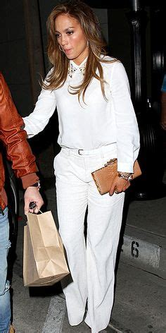 Jlo Collar Blouse greater lengths inspiration on wide leg