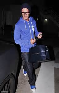 Beckham Leave Him Alone Hes Got Epilepsy by The Rainy Day Blues David Beckham Looks Glum As He Goes