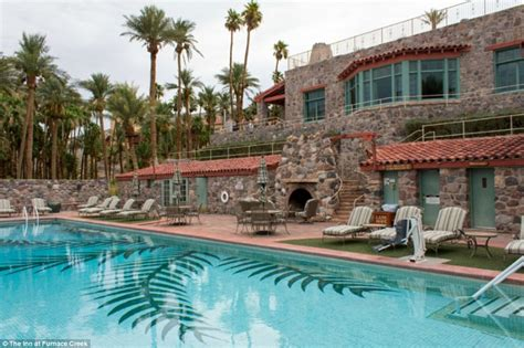 the inn at furnace creek gling at the grand and hotel tubs at