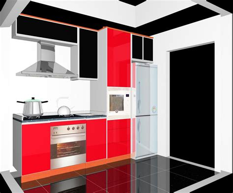 small kitchen design  small condominium  kuala lumpur