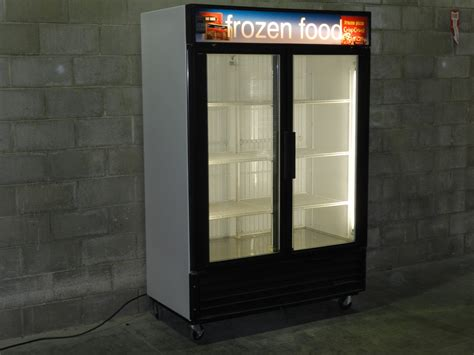 used glass door freezer freezers reconditioned 2 door 3 door display freezers