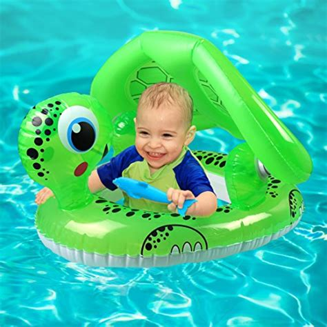 baby pool float with canopy baby swim float infant