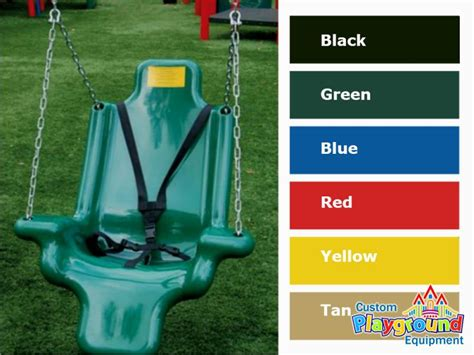 ada swing commercial accessible swing seats for handicapped children