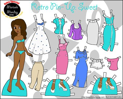 Friends Paper Dolls - marisole archives page 11 of 15 paper thin personas