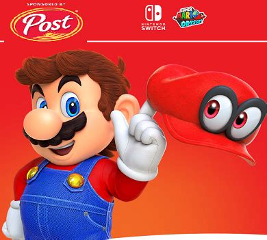 Post Sweepstakes Nintendo Switch Enter Code - free stuff freebies free sles hunt4freebies