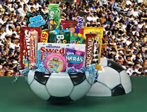soccer ball halloween basket halloween candy baskets for everyone on your list