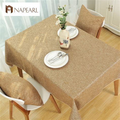 what is table cloth aliexpress com buy rustic fabric fashion solid color