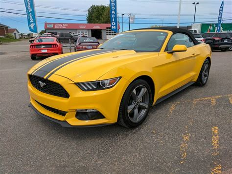 Guide De L Auto 2015 Mustang by Ford Mustang 2015 224 Vendre 224 Louiseville Qc 1905151703