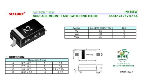 diodes incorporated 1n4148w 7 f 4148 diode array 28 images mmbd4148tw 7 f datasheet