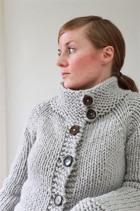 pattern wool cardigan knitting pattern twiggy cardigan top down super bulky