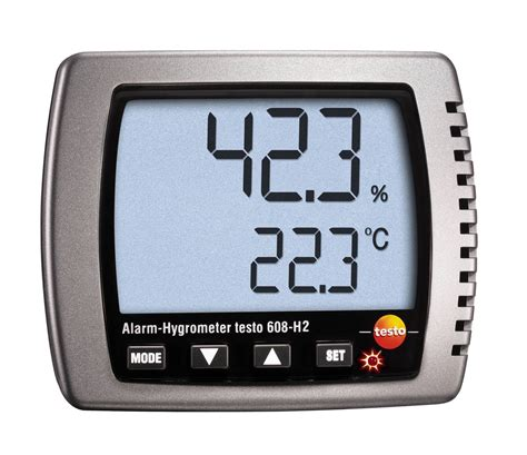 testo ca thermal hygrometer digital thermometer testo 608 h2
