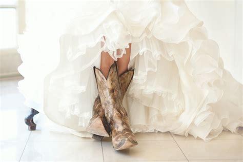 wedding cowboy boots bridal session at arlington rustic wedding chic