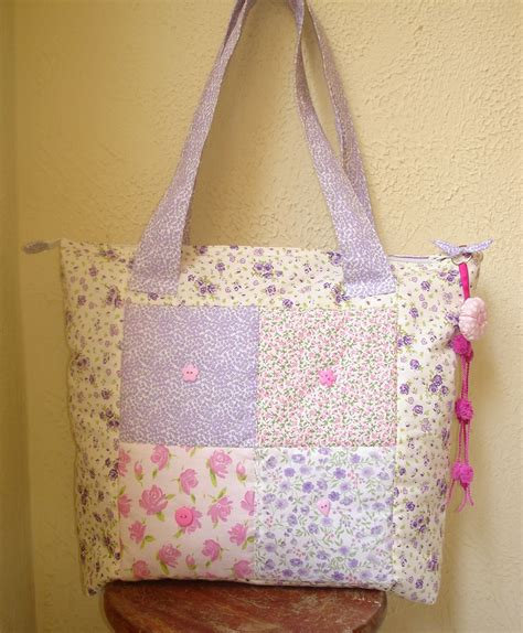 Patchwork Bags - patchwork bag kute crafts