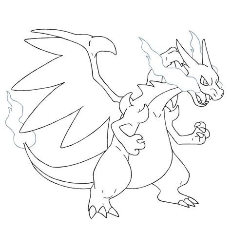 coloring pictures of mega pokemon mega charizard x coloring pages pokemon party