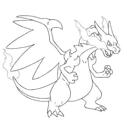 coloring pages pokemon drawing 1 20 mega charizard x coloring pages pokemon party
