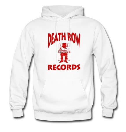 Row Records Hoodie Deathrow Records Hoodie