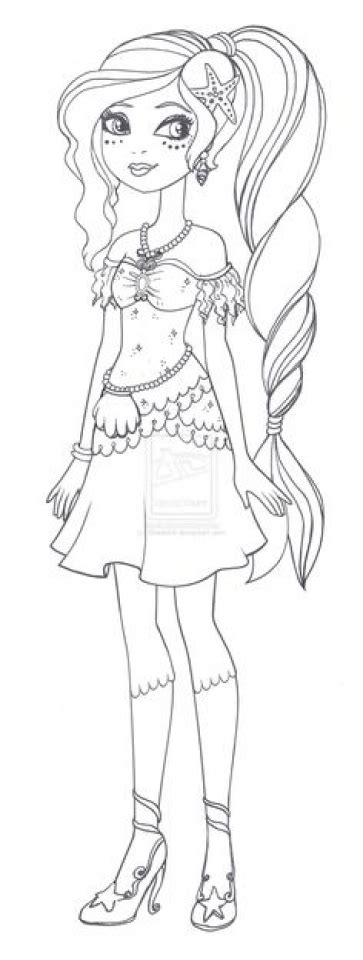 ever after high halloween coloring pages get this ever after high coloring pages for girls cfk89