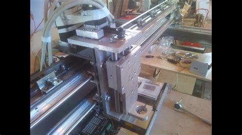 dimensionamento cremagliera prima configurazione e movimentazione assi cnc in ferro