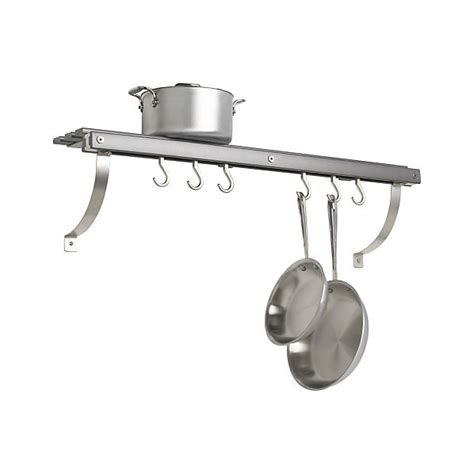 Wall Hung Pot Rack Wall Mounted Shelf Pot Rack Home Decor Interior Exterior
