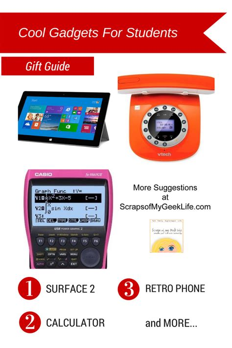 cool gadgets for students gift guide scraps of my geek
