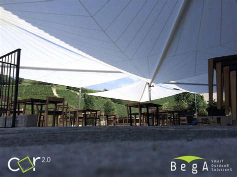tende per ristoranti vele ombreggianti e coperture esterne per ristoranti maanta