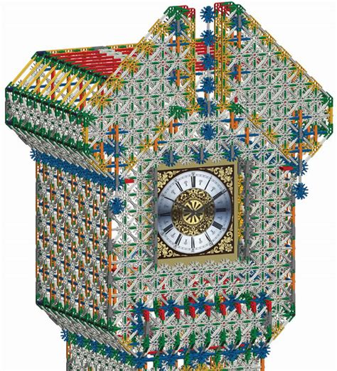 Knex Grandfather Clock by K Nex User K Nex 6 Foot 1 8m Grandfather Clock