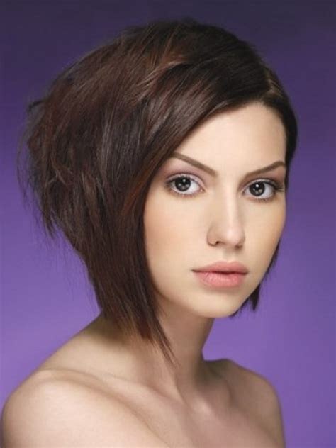 wedge one side longer hair stylish inverted bob hair styles