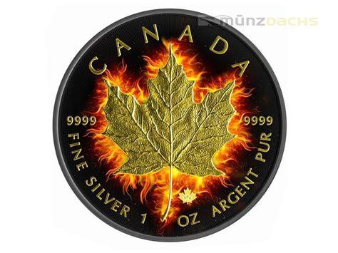 5 dollar black 5 dollar black burning maple leaf 2014 ruthenium