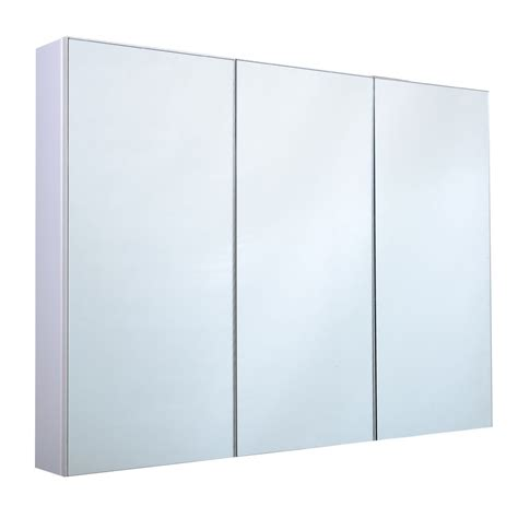 3 Door Medicine Cabinet Mirror 3 Mirror Door 36 Quot 20 Quot Wide Wall Mount Mirrored Bathroom Medicine Cabinet Storage Ebay