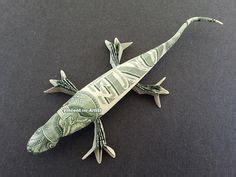 Frog Money Origami Animal Reptile Made Of Real Dollar Bills - the world s catalog of ideas