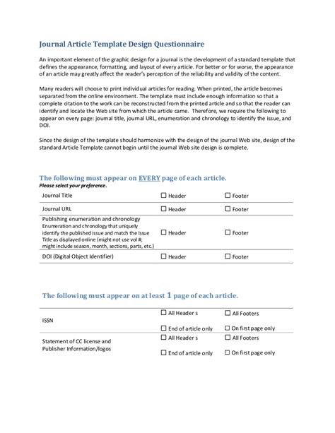 questionnaire design template word library as publisher handout 5 template questionnaire