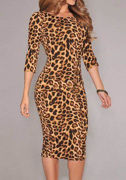 Animal Print Pullover Dress 20 best ideas about collar on